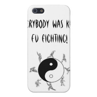 Everybody was Kung Fu fighting! Cover For iPhone 5/5S
