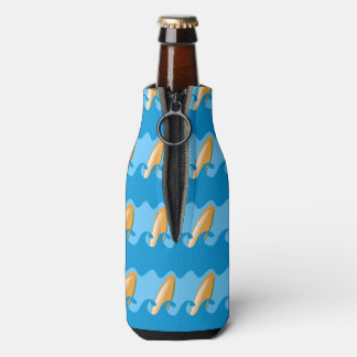 Everybody's Gone Surfin Bottle Cooler