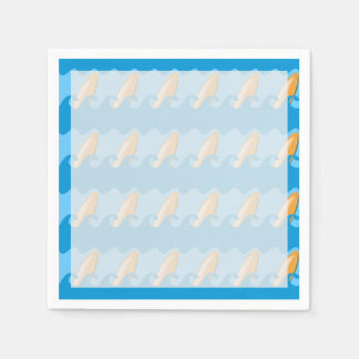 Everybody's Gone Surfin Disposable Napkins