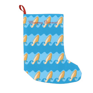 Everybody's Gone Surfin Small Christmas Stocking