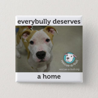 Everybully - simon 2 inch square button
