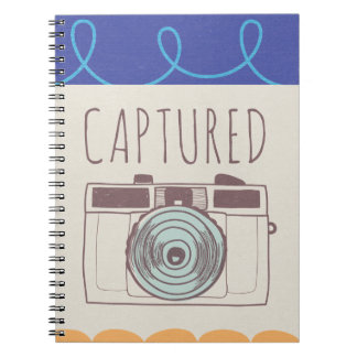 Everyday Camera lovers Spiral Notebook