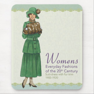 Everyday Fashions: Suite Dress Mouse Pad