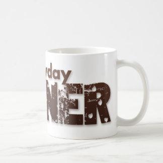 Everyday Gunner Mug with Brown Logo