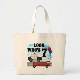 Everyday Heroes 7th Birthday Tote Bags