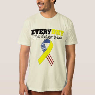 Everyday I Miss My Father-in-Law Military T-Shirt