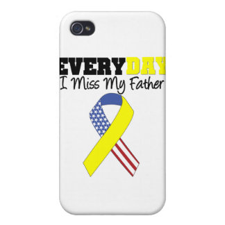 Everyday I Miss My Father Military iPhone 4 Covers