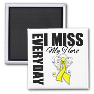 Everyday I Miss My Hero Suicide Prevention Fridge Magnet
