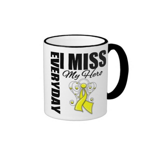 Everyday I Miss My Hero Suicide Prevention Coffee Mug