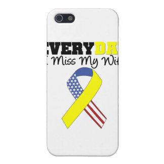 Everyday I Miss My Wife Military Case For The iPhone 5