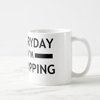 Everyday I'm K-POPPING! Classic White Coffee Mug