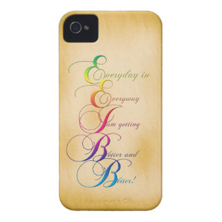 Everyday in Everyway Affirmation iPhone 4/4s Case