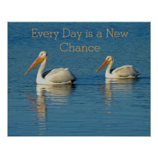 Everyday is a New Chance Recovery Poster