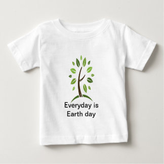 Everyday is Earth day baby Baby T-Shirt