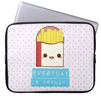 Everyday is Fryday! Laptop Sleeve