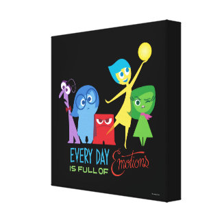 Everyday is Full of Emotions Canvas Print