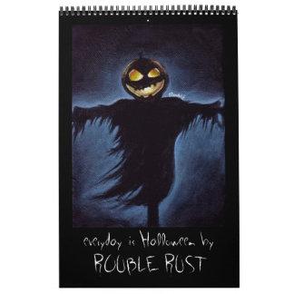 everyday is Halloween Wall Calendar
