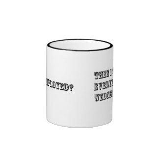 Everyday is Wednesday... Ringer Coffee Mug