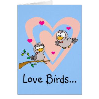 Everyday Romance: Love Birds Greeting Card