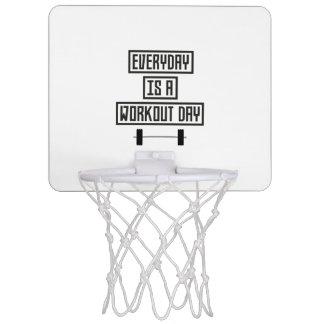 Everyday Workout Day Z3iqj Mini Basketball Hoop