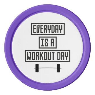 Everyday Workout Day Z3iqj Poker Chips
