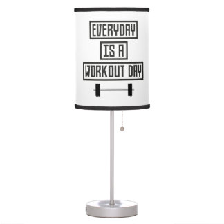 Everyday Workout Day Z3iqj Table Lamp