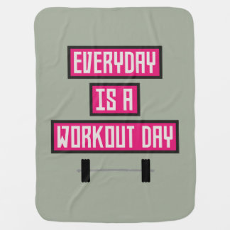 Everyday Workout Day Z52c3 Baby Blanket