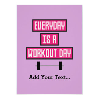 Everyday Workout Day Z52c3 Card