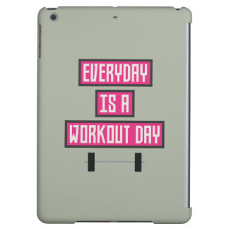 Everyday Workout Day Z52c3 Case For iPad Air