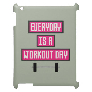 Everyday Workout Day Z52c3 iPad Case