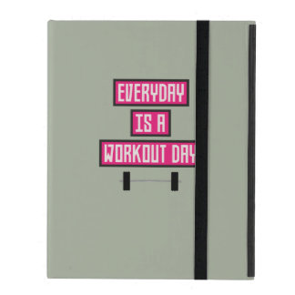 Everyday Workout Day Z52c3 iPad Cover