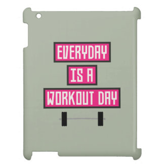 Everyday Workout Day Z52c3 iPad Covers