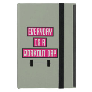 Everyday Workout Day Z52c3 iPad Mini Cover