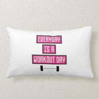 Everyday Workout Day Z52c3 Lumbar Pillow