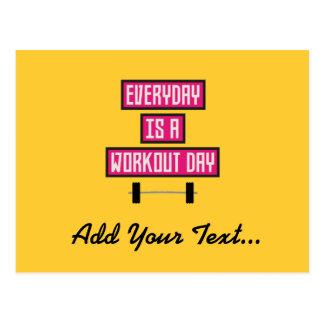 Everyday Workout Day Z52c3 Postcard