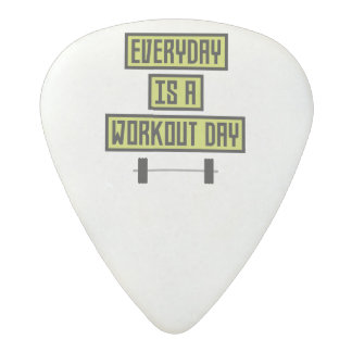 Everyday Workout Day Z81fo Acetal Guitar Pick