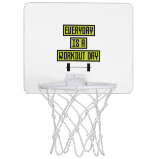 Everyday Workout Day Z81fo Mini Basketball Hoop