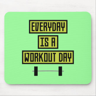 Everyday Workout Day Z81fo Mouse Pad