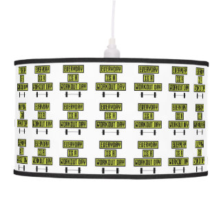 Everyday Workout Day Z81fo Pendant Lamp