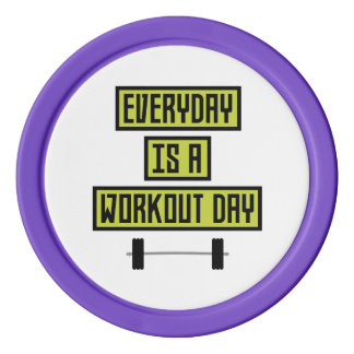 Everyday Workout Day Z81fo Poker Chips