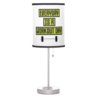 Everyday Workout Day Z81fo Table Lamp