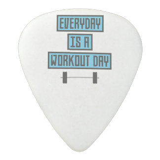 Everyday Workout Day Z852m Acetal Guitar Pick
