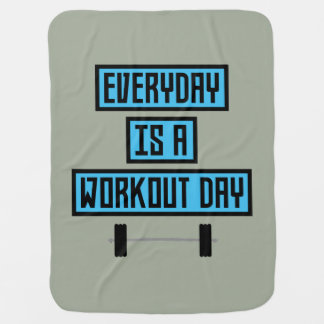Everyday Workout Day Z852m Baby Blanket
