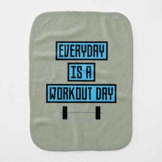 Everyday Workout Day Z852m Burp Cloth