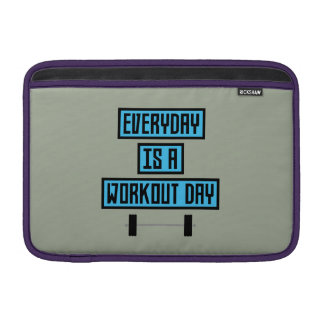 Everyday Workout Day Z852m MacBook Sleeve