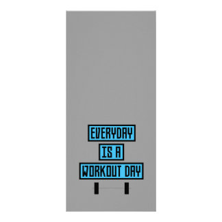 Everyday Workout Day Z852m Rack Card