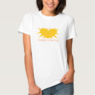 Everyday's a New Day Womens T-shirt