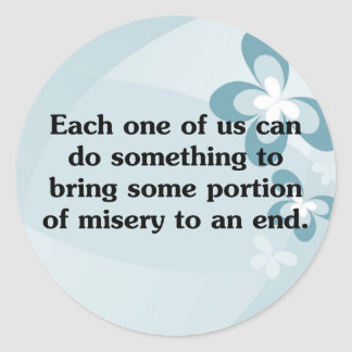 Everyone can end misery stickers