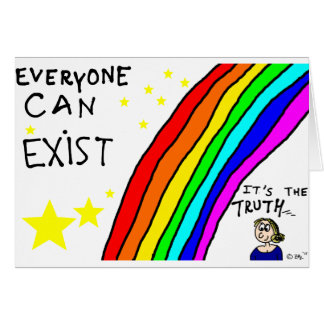 Everyone can exist card