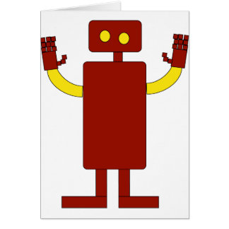 EVERYONE DESERVES THEIR OWN ROBOT CARD